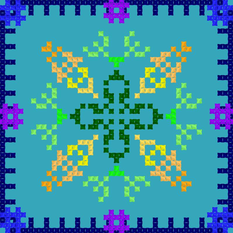 Текстовий слов'янський орнамент: Частушки