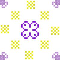 Текстовый украинский орнамент: аленький  цветочек