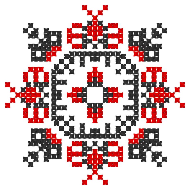 Текстовий слов'янський орнамент: 사링헤