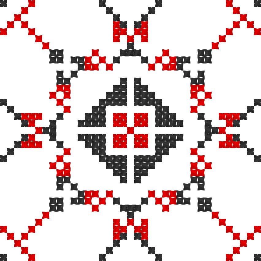 Текстовий слов'янський орнамент: Марс