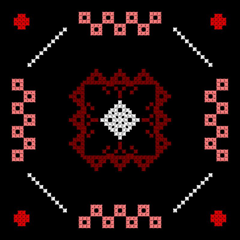 Текстовий слов'янський орнамент: Просто орнамент