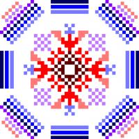 Текстовый украинский орнамент: Джизак