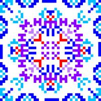 Текстовый украинский орнамент: Туркменистан