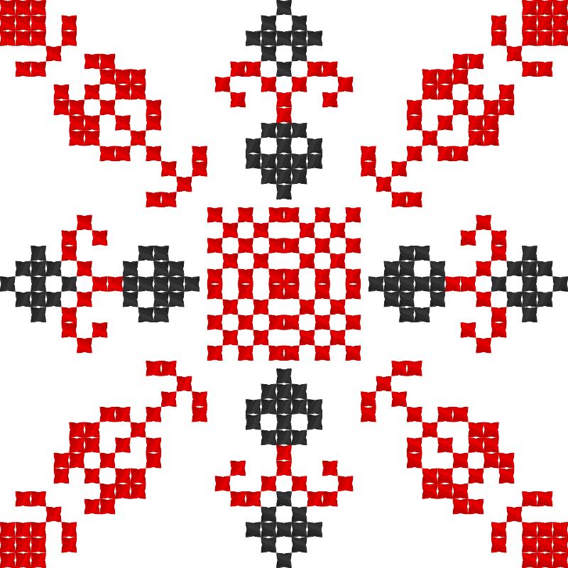 Текстовий слов'янський орнамент: Настроение
