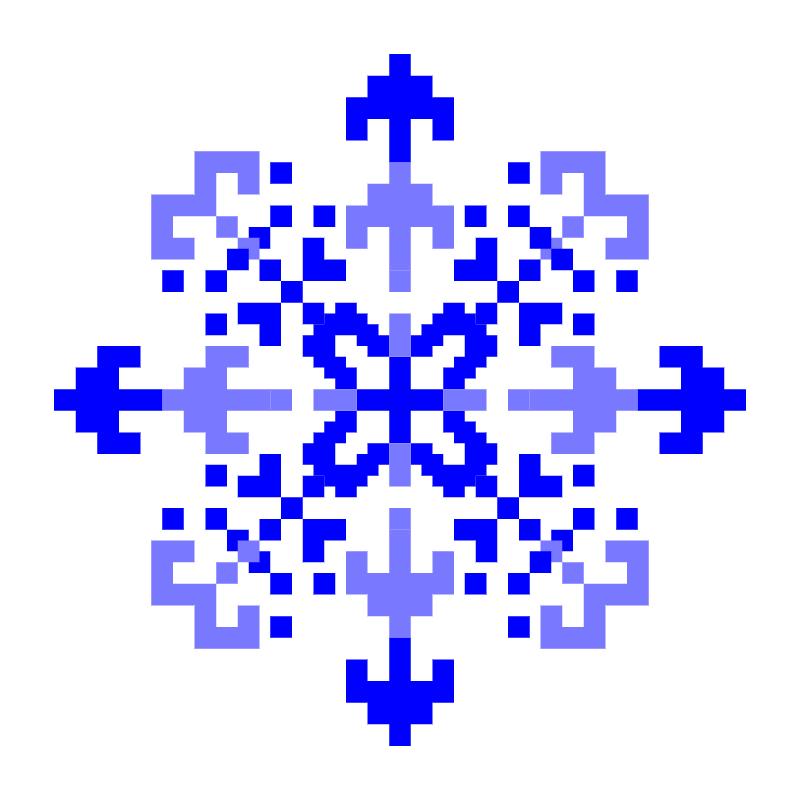 Текстовий слов'янський орнамент: сила води