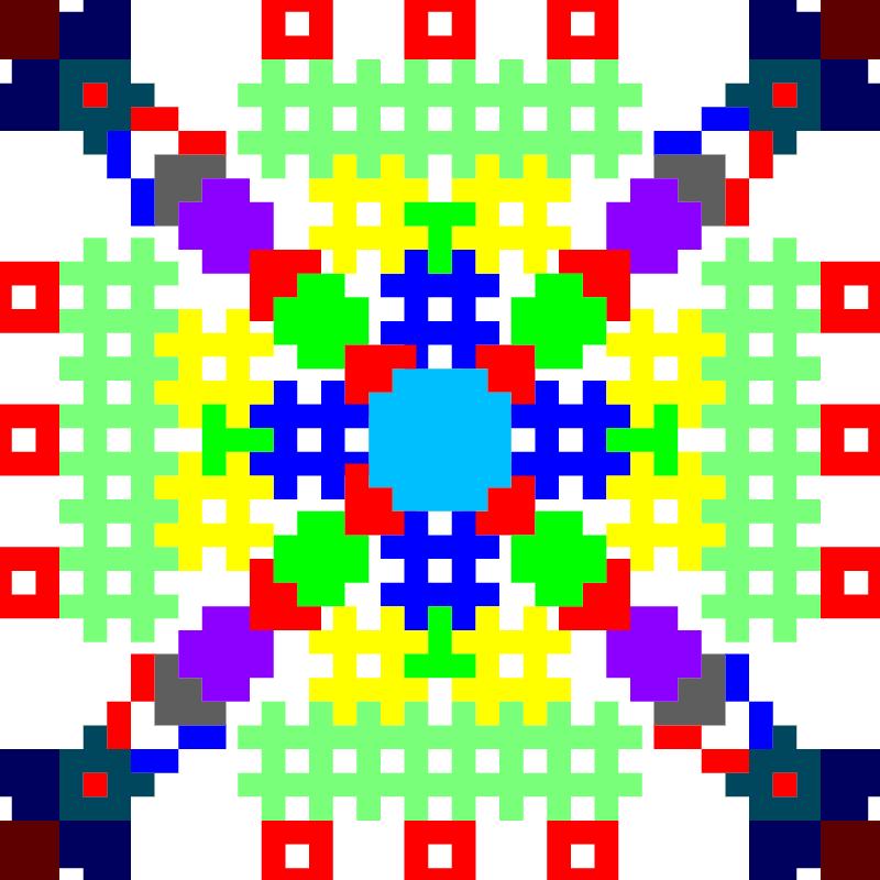 Текстовий слов'янський орнамент: ждіть чогось(не знаю чого)