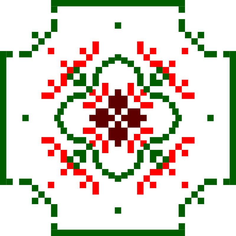 Текстовий слов'янський орнамент: StarWars