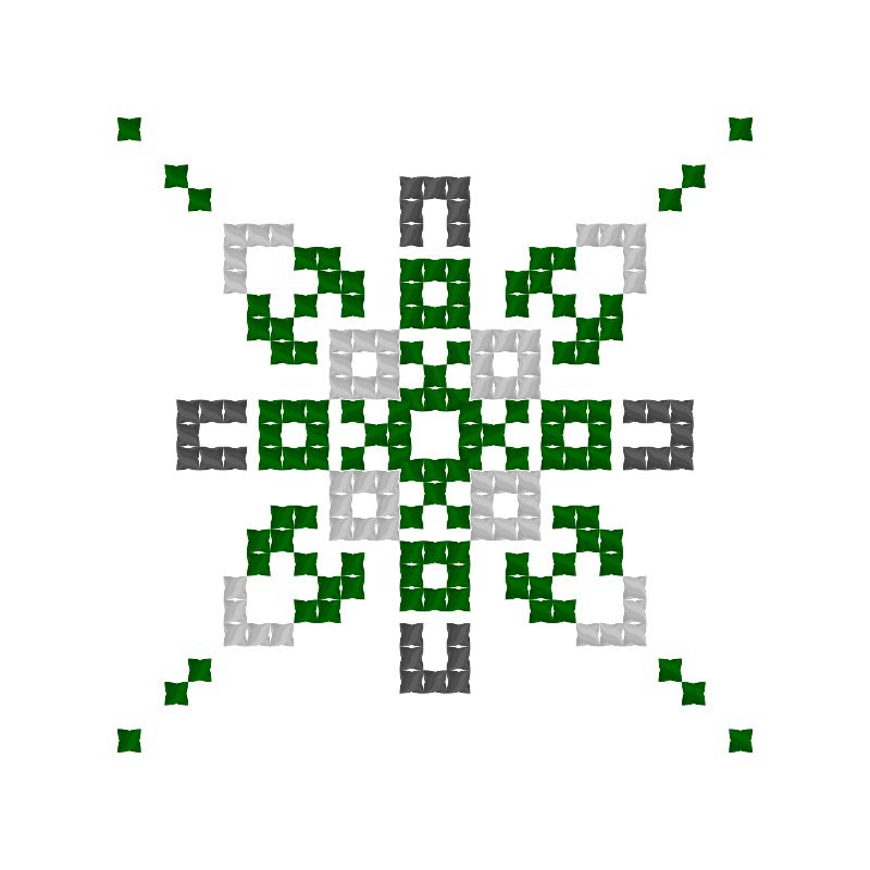 Текстовий слов'янський орнамент: Коноплі