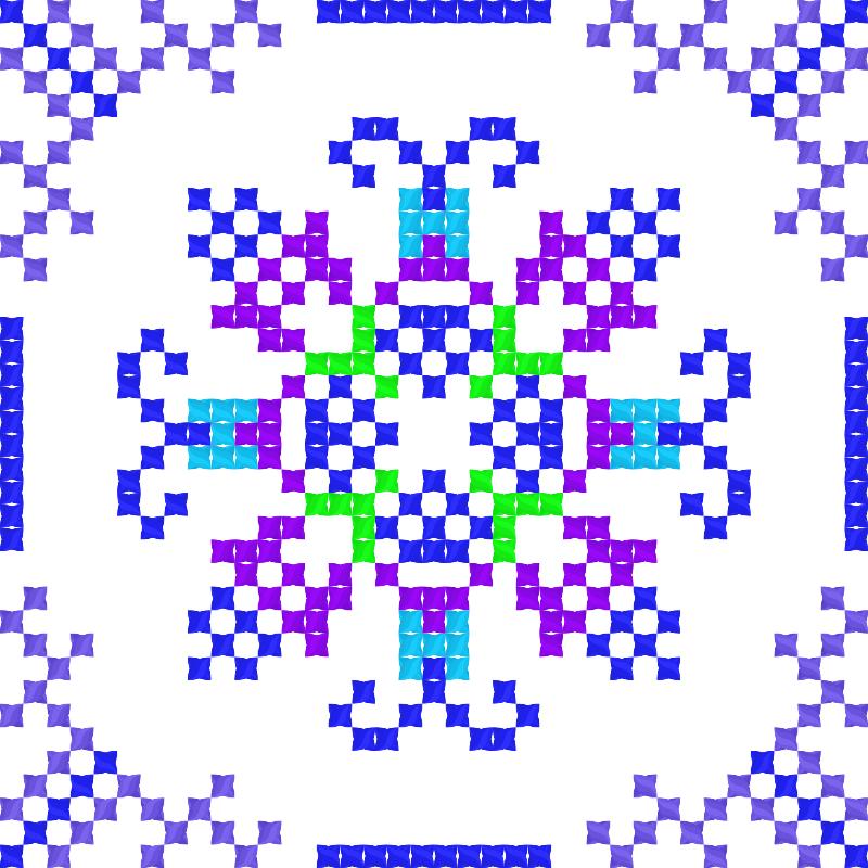 Текстовий слов'янський орнамент: Душанбе