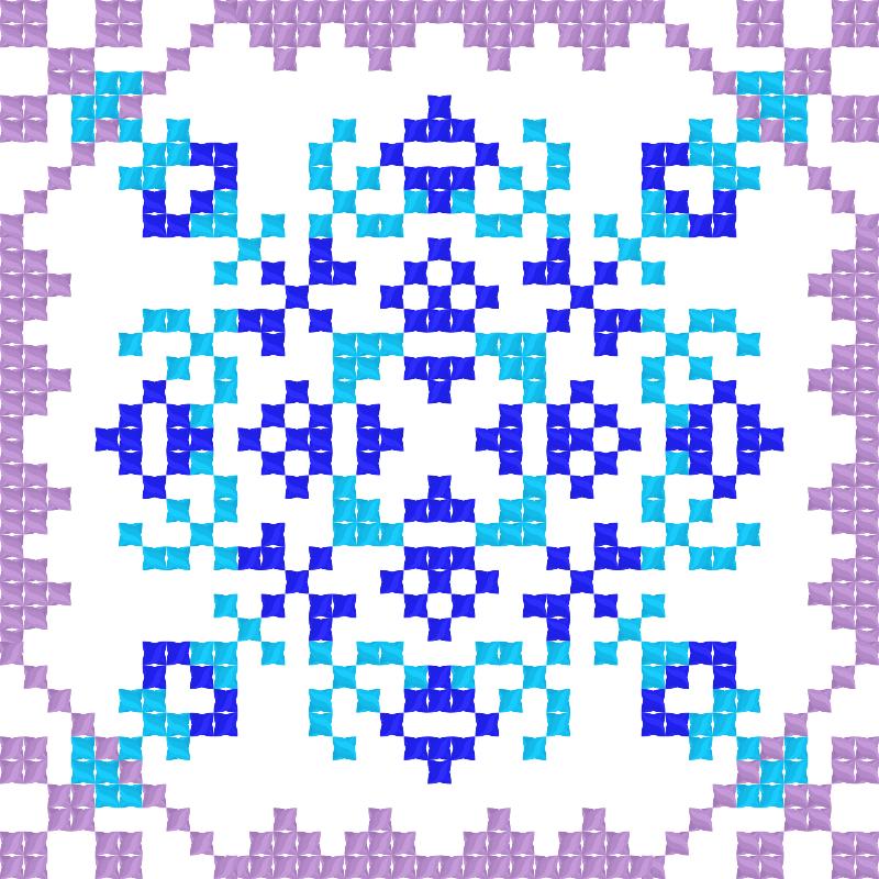 Текстовий слов'янський орнамент: Таджикистан
