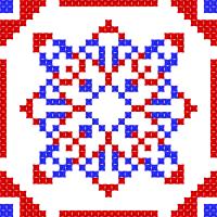 Текстовый украинский орнамент: Украина