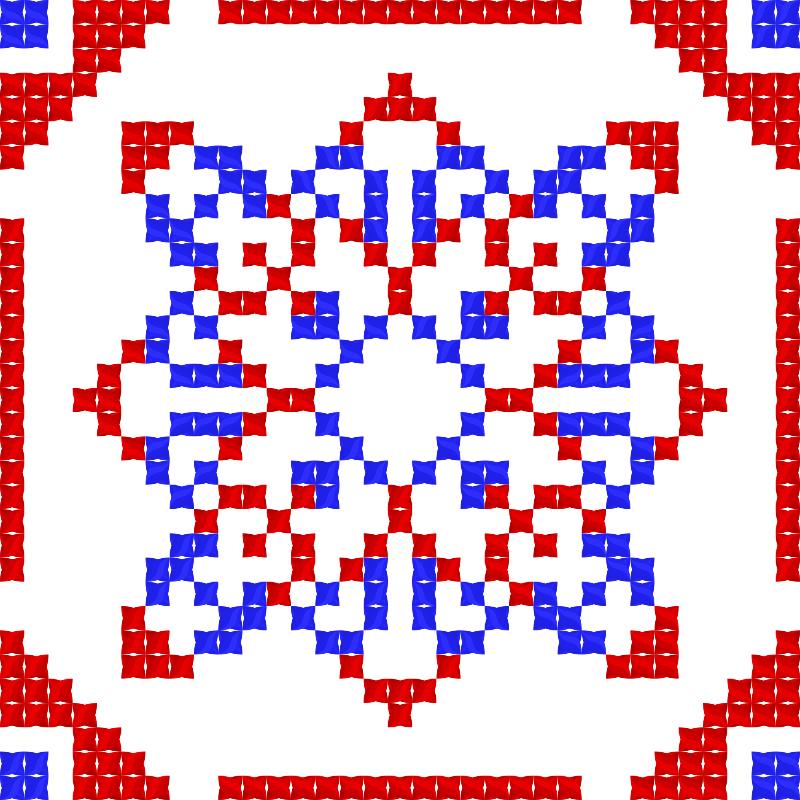 Текстовий слов'янський орнамент: Украина