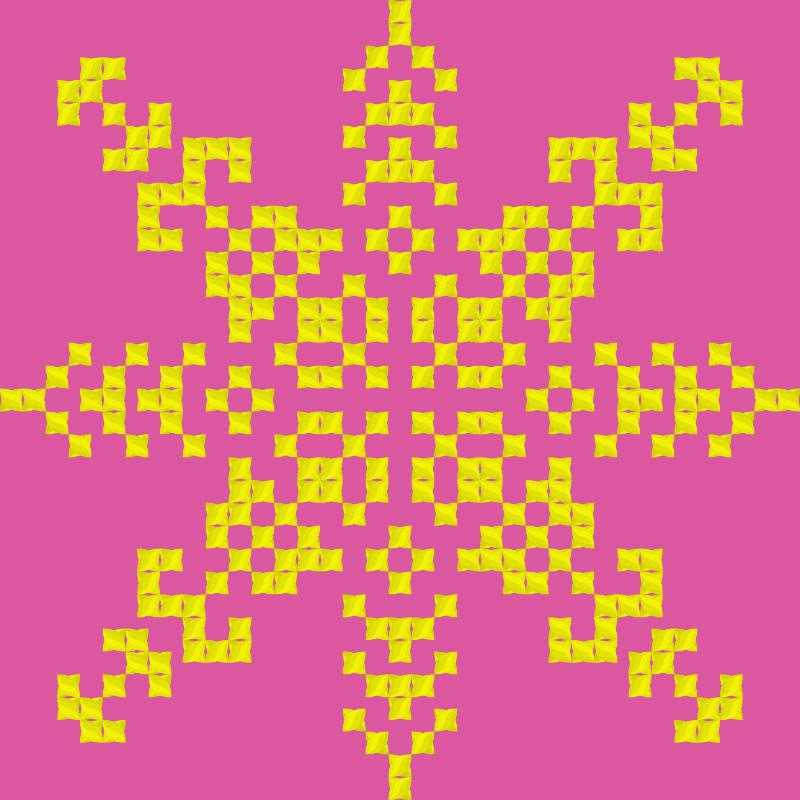 Текстовий слов'янський орнамент: Ойшабану