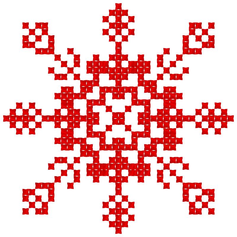 Текстовий слов'янський орнамент: viktoria