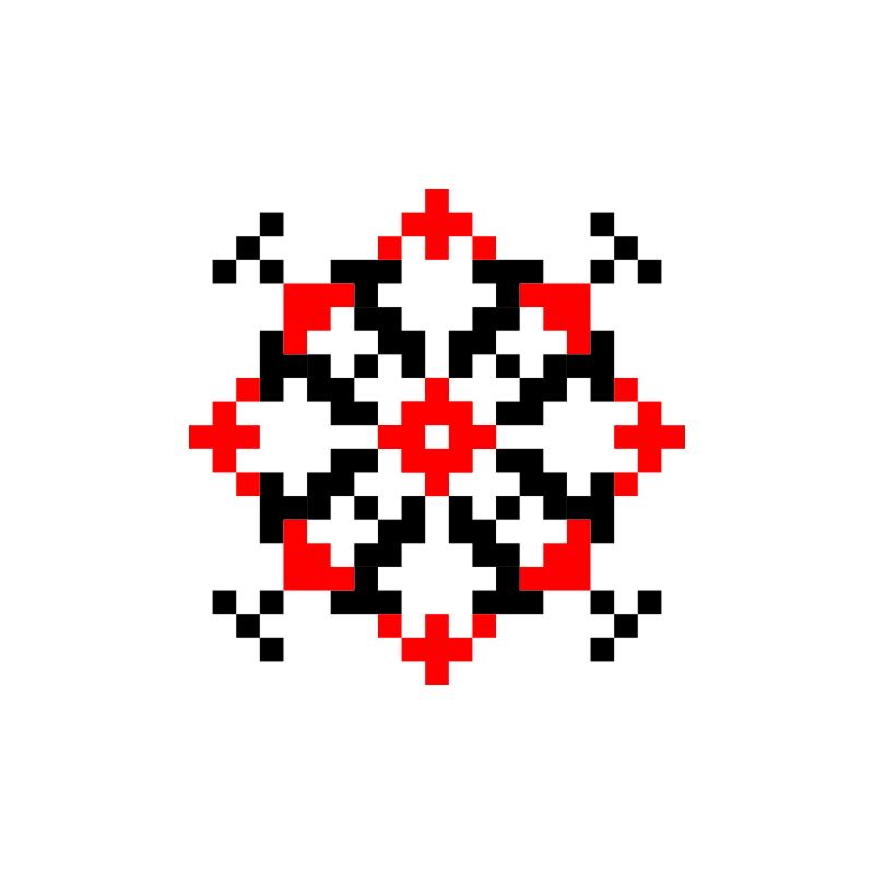 Текстовий слов'янський орнамент: Татяна2