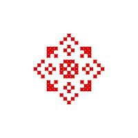 Текстовый украинский орнамент: Мое имя