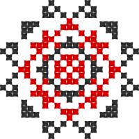 Текстовый украинский орнамент: Имя: Тамара