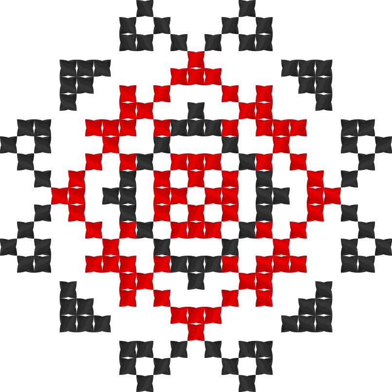 Текстовий слов'янський орнамент: Имя: Тамара
