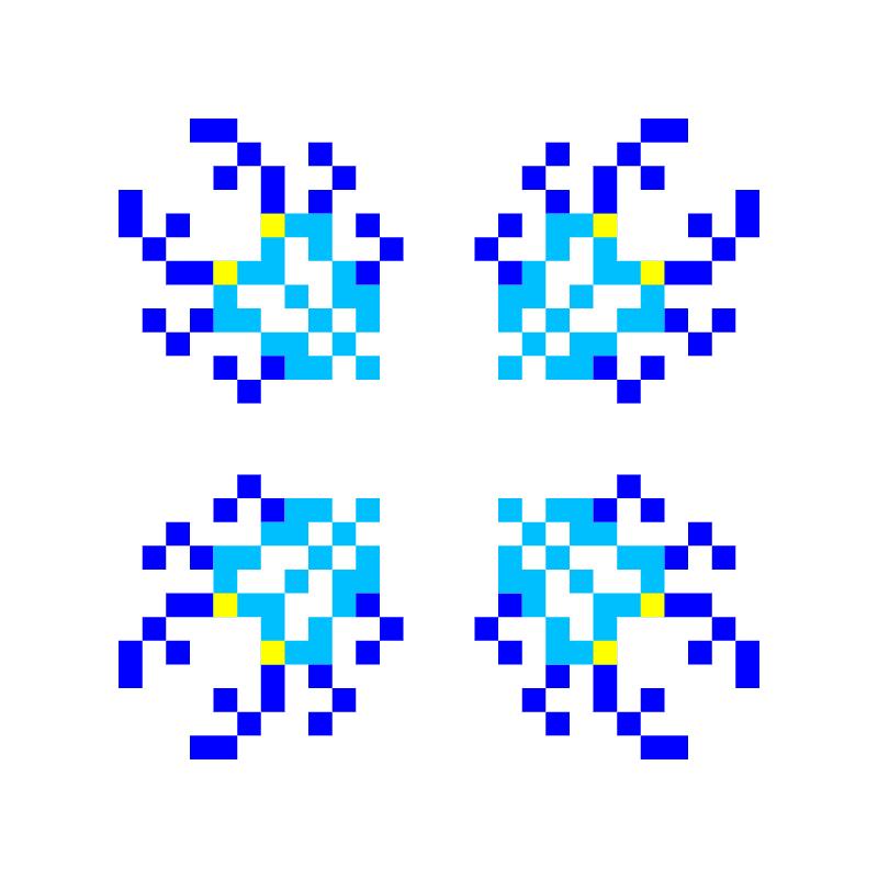 Текстовий слов'янський орнамент: Жуки