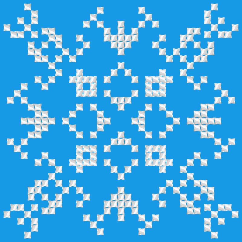 Текстовий слов'янський орнамент: Альпинист