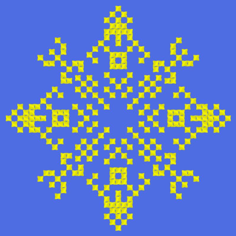 Текстовий слов'янський орнамент: Велосипед