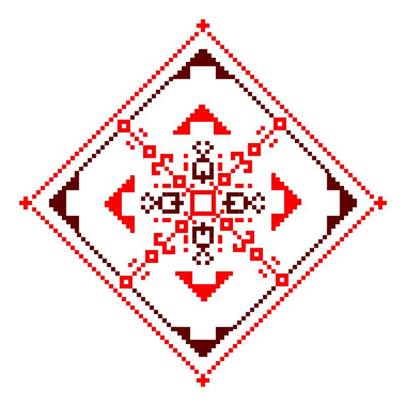 Текстовий слов'янський орнамент: щастя і любові