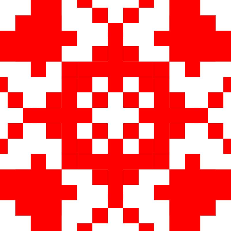Текстовий слов'янський орнамент: Елементи