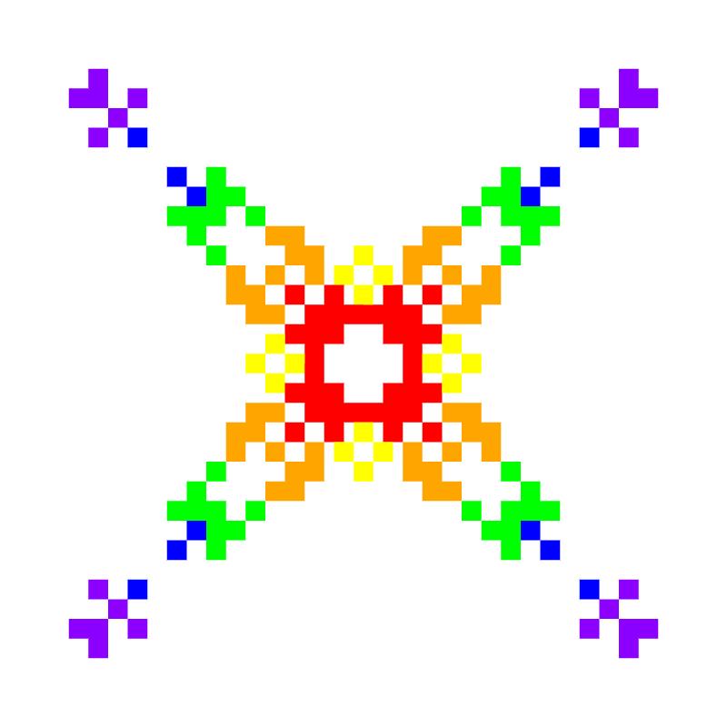 Текстовий слов'янський орнамент: Гномiк