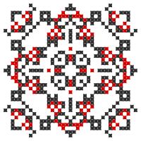 Текстовый украинский орнамент: рівненська область