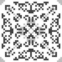 Текстовый украинский орнамент: чернігівська область