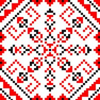 Текстовый украинский орнамент: Алиса