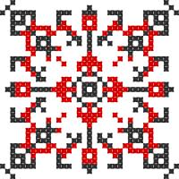 Текстовый украинский орнамент: Київська область