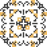 Текстовый украинский орнамент: Полтавська область
