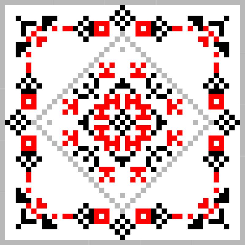 Текстовий слов'янський орнамент: Знаки зодіаку