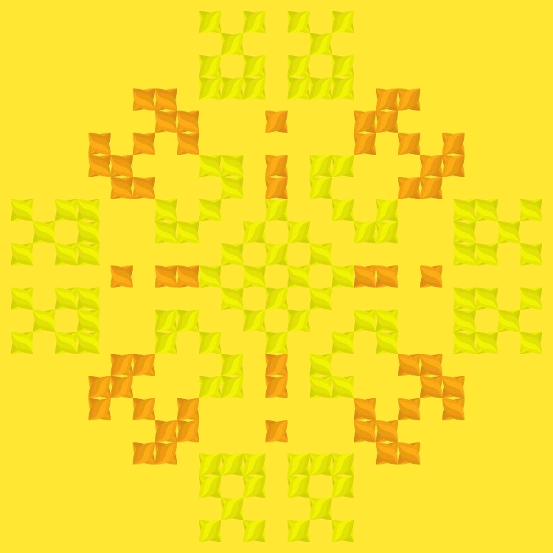 Текстовий слов'янський орнамент: Осінь