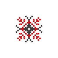 Текстовый украинский орнамент: Лада