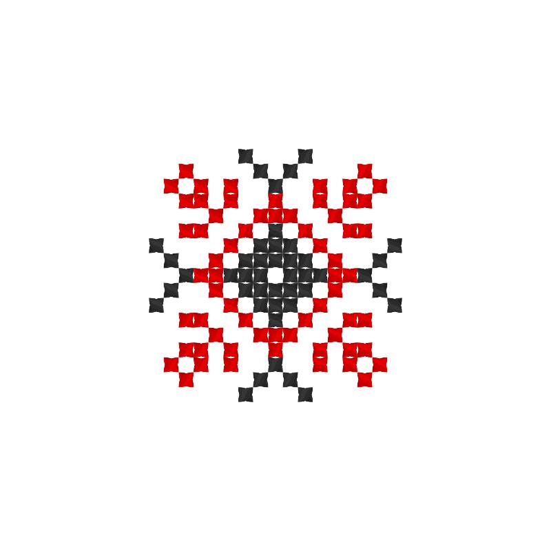 Текстовий слов'янський орнамент: Лада