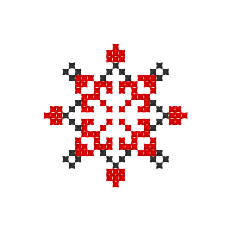 Текстовий слов'янський орнамент: Благо
