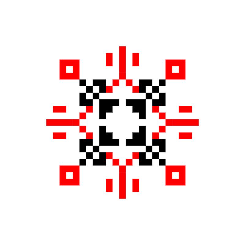 Текстовий слов'янський орнамент: Flavio