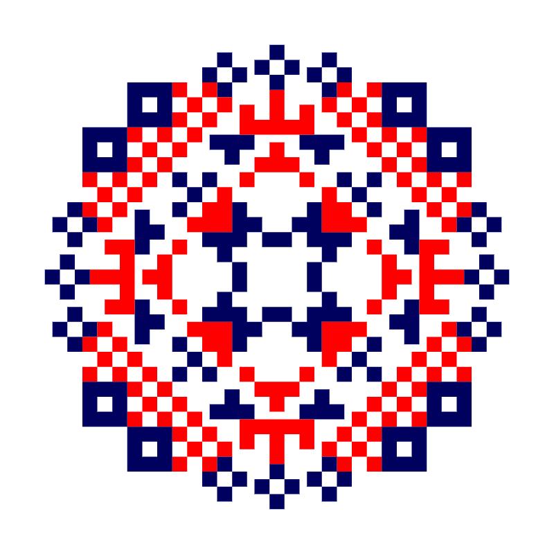 Текстовий слов'янський орнамент: Маттео