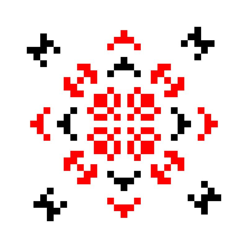 Текстовий слов'янський орнамент: проба