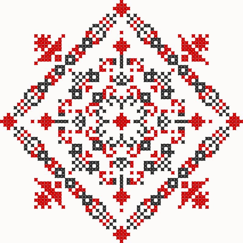 Текстовий слов'янський орнамент: Бродівське письмо
