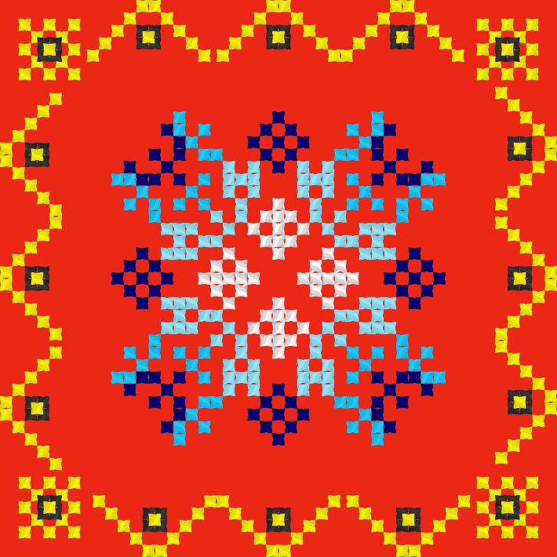 Текстовий слов'янський орнамент: фентези