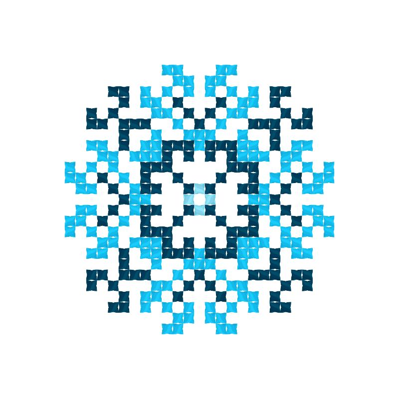 Текстовий слов'янський орнамент: Баланс