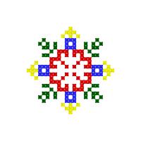 Текстовый украинский орнамент: Бодя