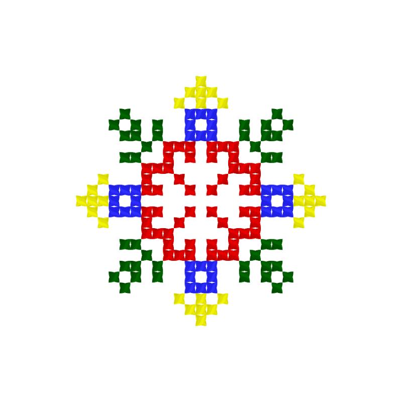 Текстовий слов'янський орнамент: Бодя
