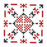 Текстовый украинский орнамент: заміжжя