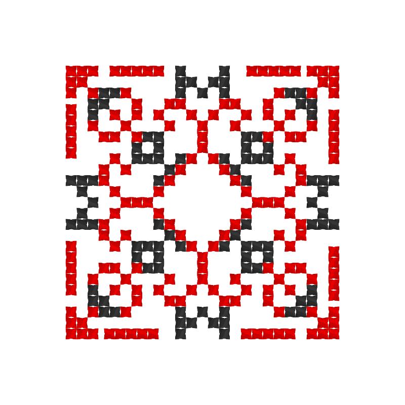 Текстовий слов'янський орнамент: любимая