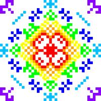 Текстовый украинский орнамент: Марія Сорокіна