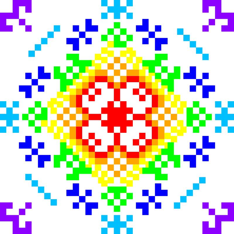 Текстовий слов'янський орнамент: Марія Сорокіна